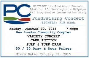 Variety Concert Ticket Jan 20 2015