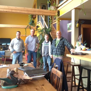 Hunter-Clyde Watershed Meeting - Andrew Lush - Phil Pineau - Donnie Sonier - May 2015
