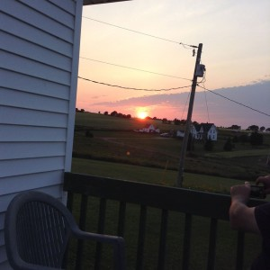 pei sunset - Mayfield