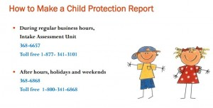 How to Make a Child Protection Report - PEI