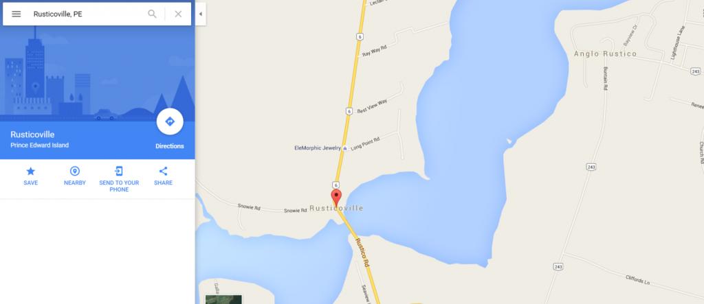 Rusticoville - Google Maps