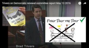Electoral Reform Plebiscite - Brad Trivers