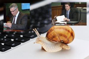 Report Internet Problems to PEI Minister of Economic Development