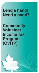 CVITP Brochure - Community Volunteer Tax Program logo