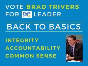 BACK TO BASICS - Vote Brad Trivers for PC Leader