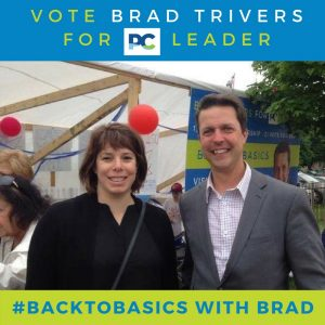 Back to Basics - Brad Trivers for PC Leader - Tara Wheeler