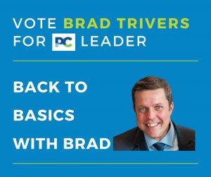 Back to Basics With Brad - Vote Brad Trivers for PEI PC Leader