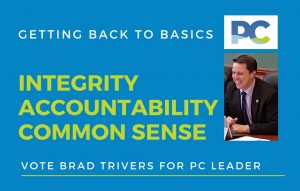 Getting back to basics - Brad Trivers for PC Leader