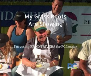 My Grass Roots Are Showing - Vote Brad Trivers for PC Leader