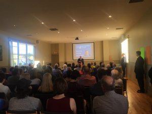 Brad Trivers for PEI PC Leader - announcement Jamie Larkin 5