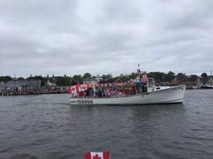 Boat Parade - Canada Day 2017 - North Rustico Harbour