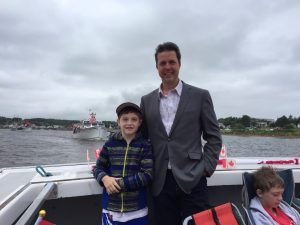 Boat Parade - Canada Day 2017 - North Rustico Harbour - Brad Trivers - Alex