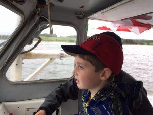 Boat Parade - Canada Day 2017 - North Rustico Harbour - Brad Trivers - Alex - #backtobasics