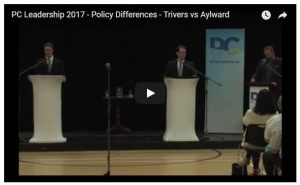 Policy Differences - PC Leadership 2017