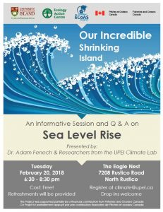 Sea Level Rise Event - Feb 20 2018