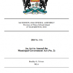 Bill 111 – Giving Unincorporated Islanders A Voice