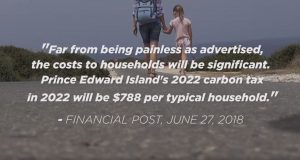 Stop The Carbon Tax - James Aylward - Financial Post Quote