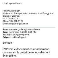 Paula Biggar - I dont speak French