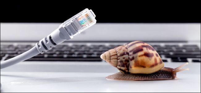slow high speed internet
