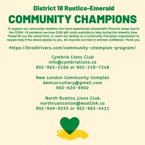 Community Champions - Brad Trivers